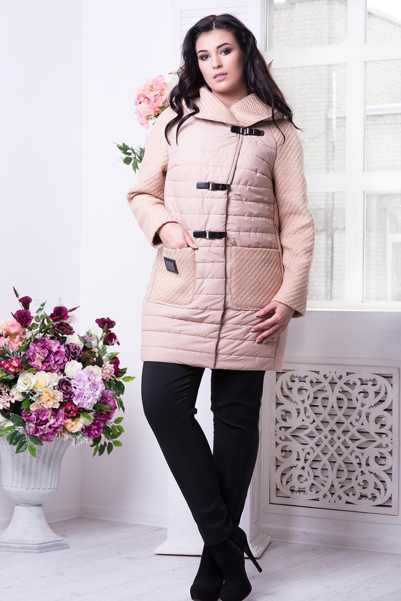 26da78233a12 Демисезонная удлиненная куртка, Арт. 582 купить недорого в интернет ...