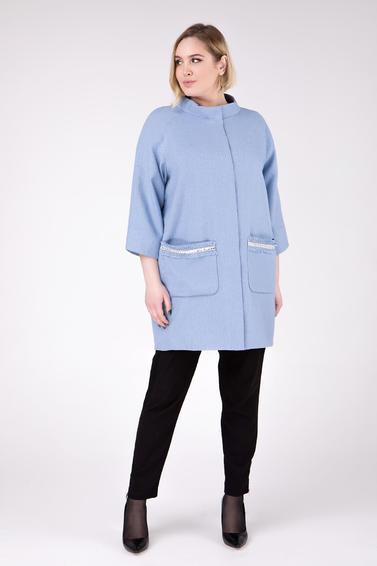0cd960ada32 Женские пальто больших размеров  демисезонные